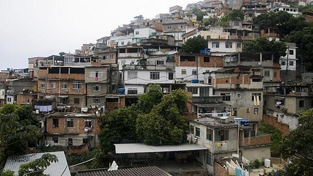 Vista norte del Barrio Vidigal