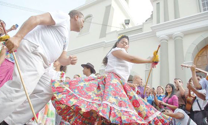 El tamunangue declaradó Patrimonio Cultural