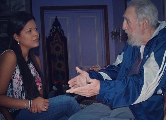 Fidel-Castro-Maria-Gabriela