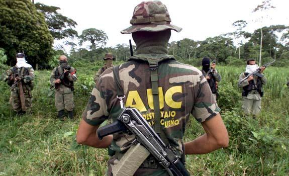 Las tristemente célebres Autodefensas Unidas de Colombia
