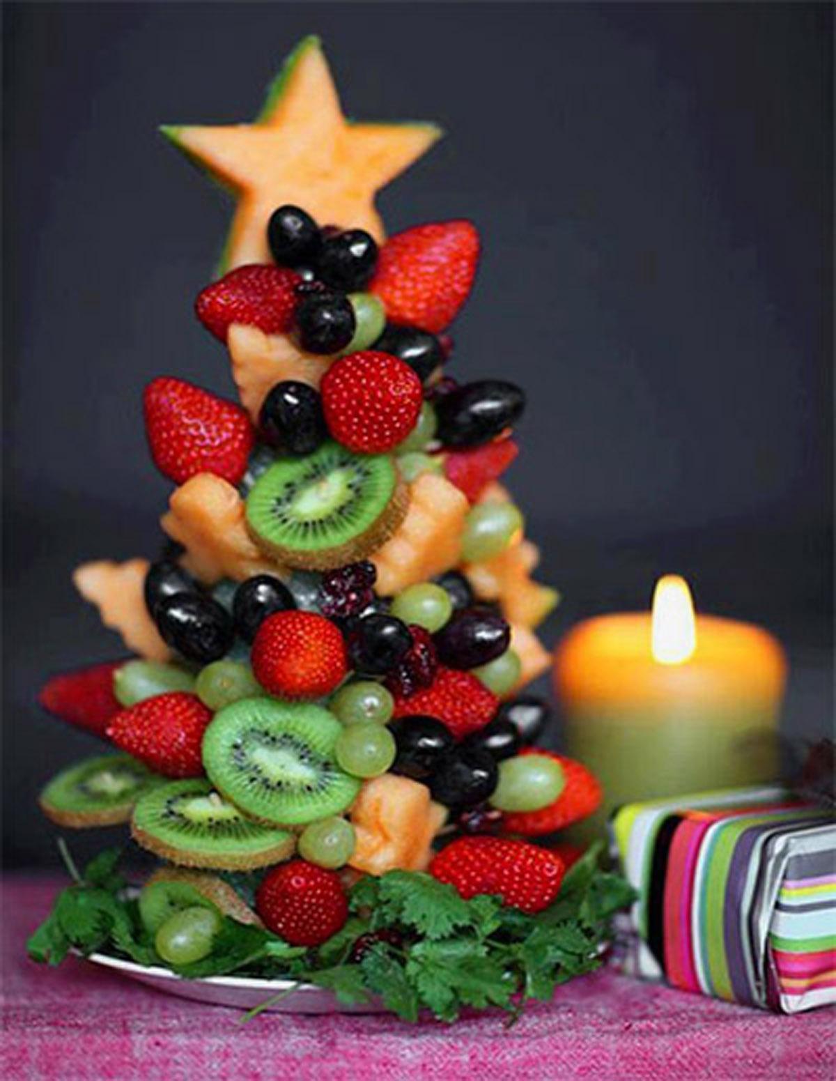 El decofruta navideño, ¡está como para comérselo!