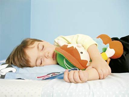 niños dormir