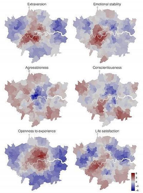 Mapa psicológico de Londres