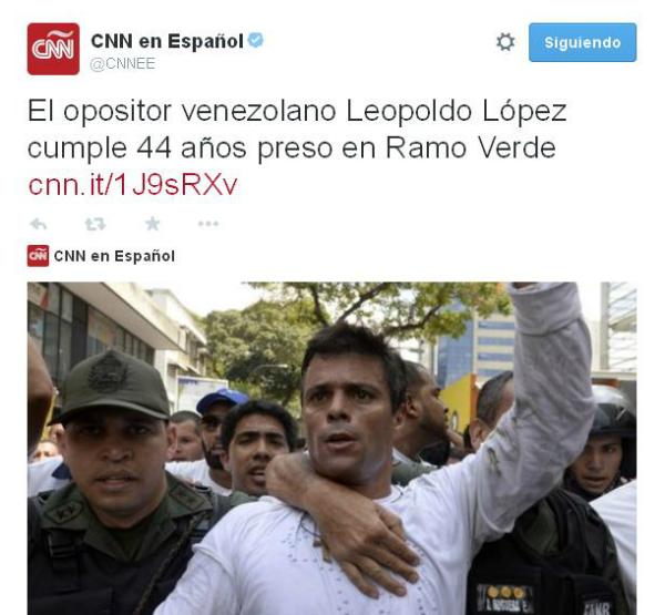 Leopoldo López CNN