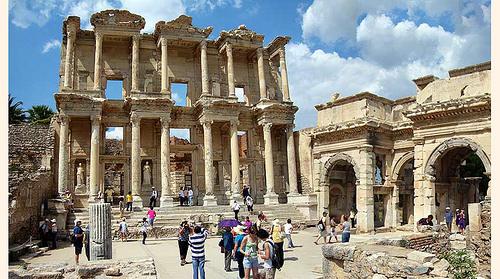 Ciudad de Éfeso en Turquía