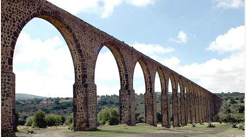 Sistema Hidráulico del Acueducto del Padre Tembleque en México