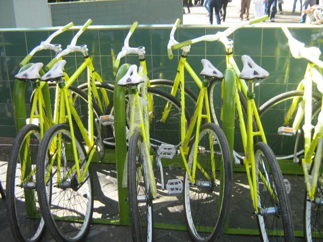 Estas son las bicicletas que se prestan en (Foto extraída de notielrecreo)