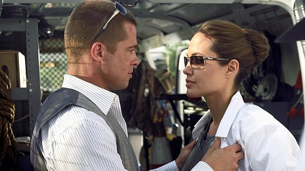 Brad Pitt y Angelina Jolie 2