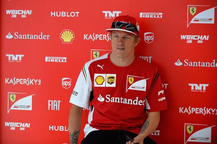 Kimmi Raikonen sigue en Ferrari