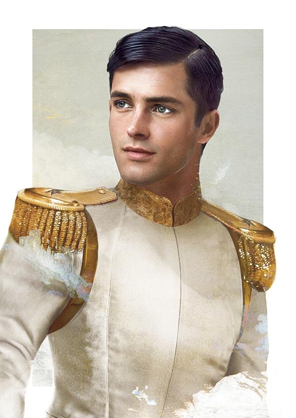 principe azul de cenicienta
