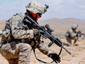 soldados en Afganistan