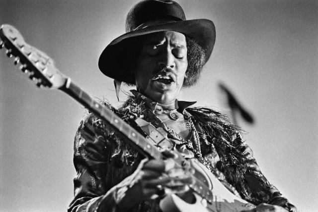 Jimi Hendrix in Concert