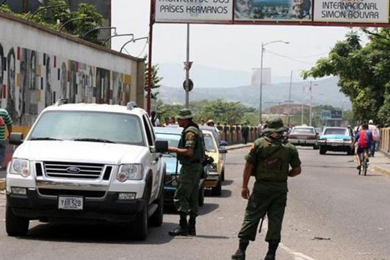 Activado el cierre de la frontera en el estado Zulia