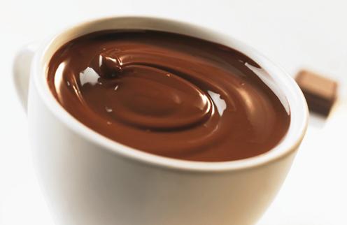 chocolate tasa