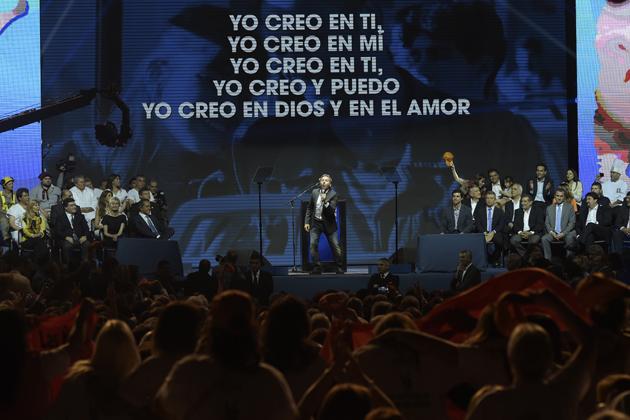 ARGENTINA-ELECTIONS-CAMPAIGN-SCIOLI-MONTANER