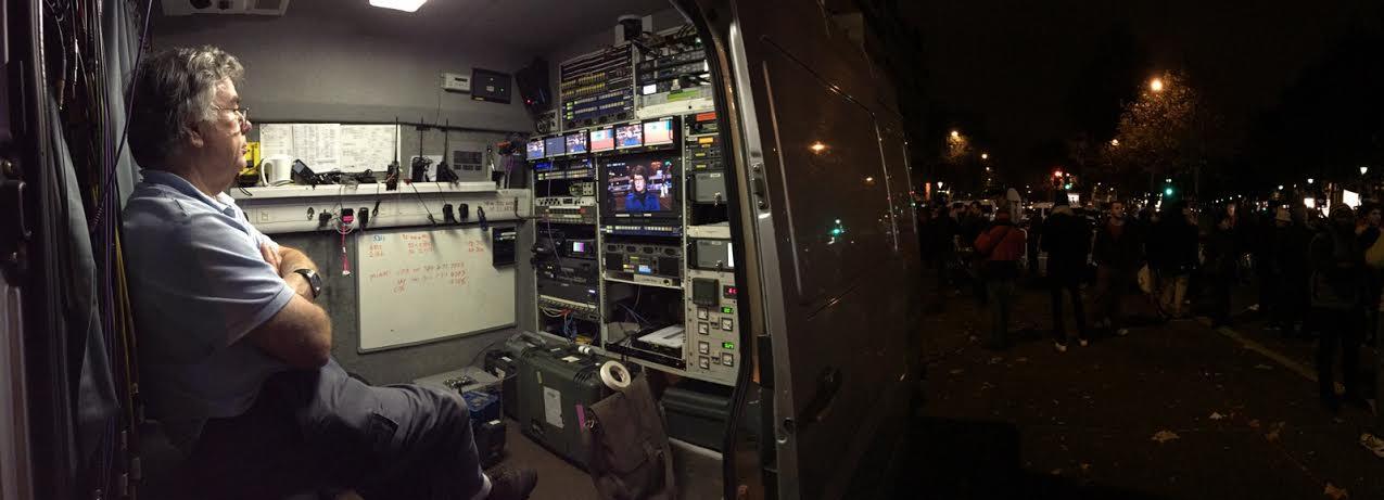 En cada calle hay 20 ó 30 medios de comunicación / Foto Cel: Iñaki.