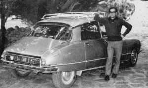 Araya en los últimos años de chófer de Neruda
