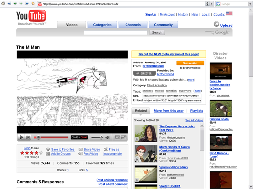 YouTube no servía