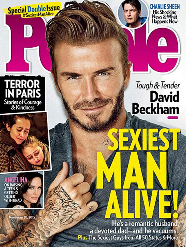 En otras ocasiones, también ha sido nombrado, por la misma revista, como el padre y futbolista más guapo