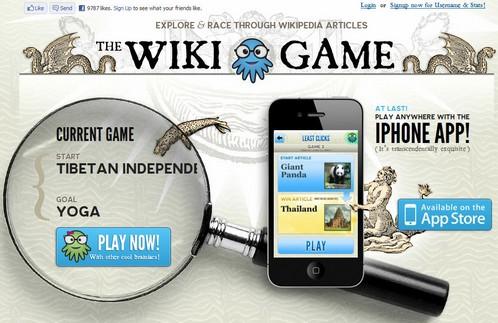 Basta de aburrimiento!! conoce los Wiki Games