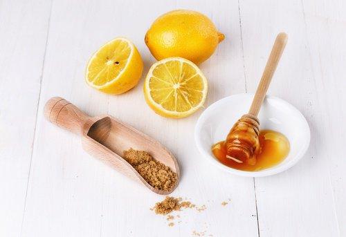 Exfoliante de Limón y miel