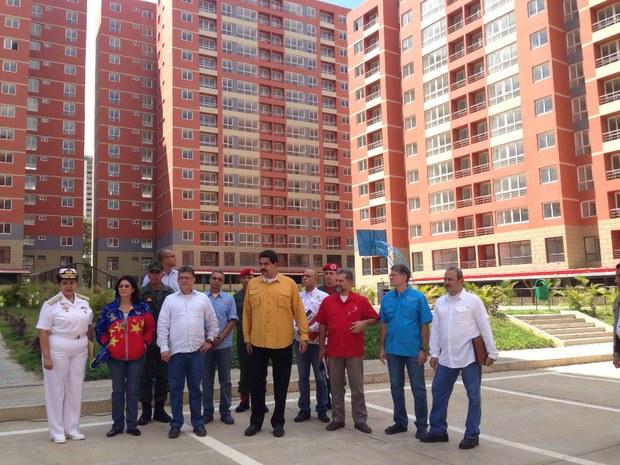 """Éstos son los """"supuesto"""" edificios de Fuerte Tiuna a los que se refería Julio Borges."""