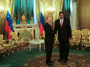 Vladimir y Maduro