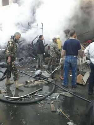Las explosiones se registraron cerca de un santuario chiita, ubicado en un suburbio llamado Al Sayyid Zeinab
