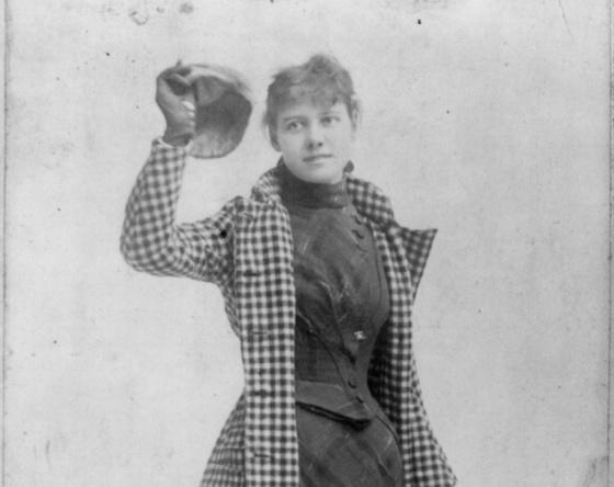 Nelly Bly. Biblioteca del Congreso de Estados Unidos