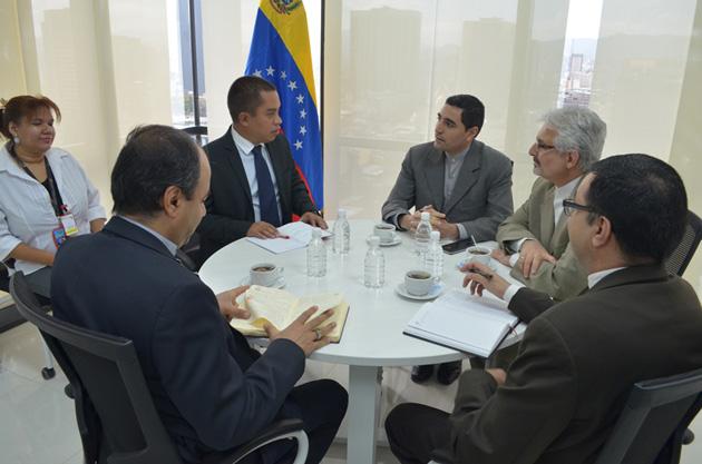 Reunión ministro Luis Gonzalez