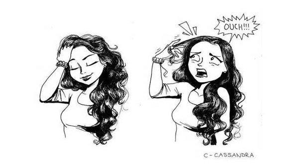 ¡Uff! fatal cuando necesitas que tu cabello refuerce tus encantos, pero  ¡puff! sucede lo contrario