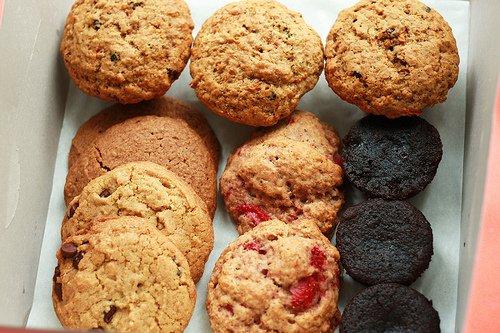 Harina refinada galletas