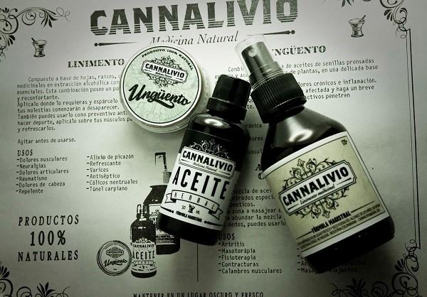 aceite cannalivio de cannabis