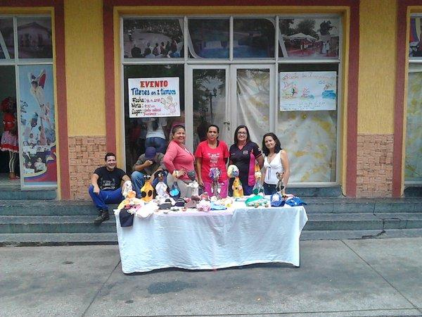 TÍTERES EN DOS TIEMPOS, muestra del trabajo que realiza el equipo de la Misión Cultura Corazón Adentro, Páez-Araure