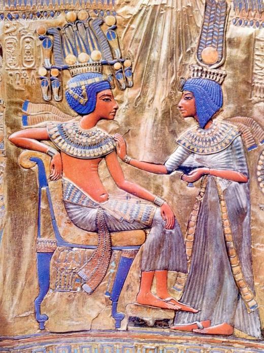 Tutankamón-Endogamia