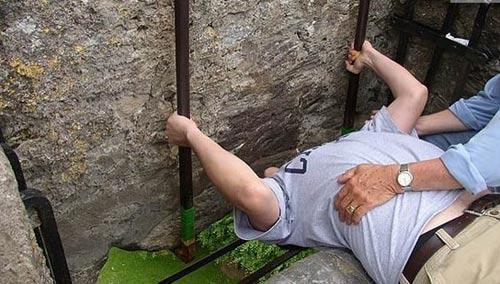 besar la piedra Blarney
