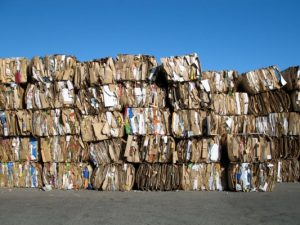 industria del reciclaje carton-papel-