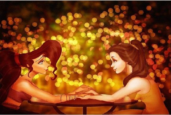 Megara y Belle