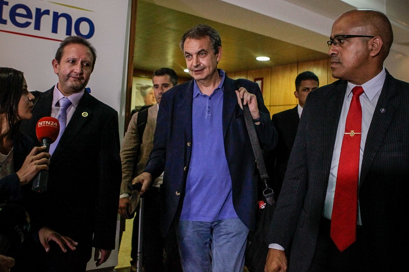 Zapatero en Venezuela