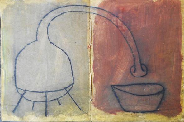 Arte. Oscar Sotillo. Pánia del libro signos