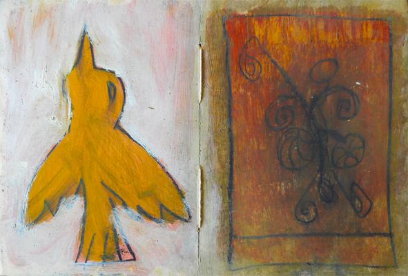 Arte. Oscar Sotillo. páginas del libro signos