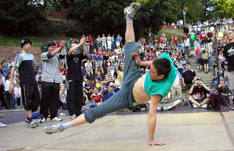 break-dance