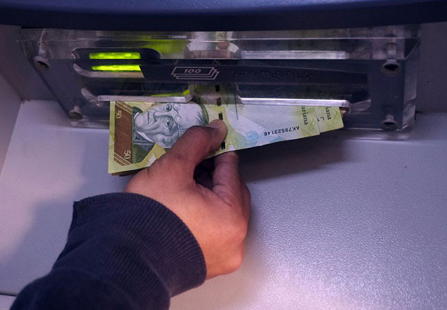 Retiros de clientes de otros bancos