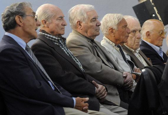 German Montenegro, Jorge Osvaldo Garcia, Carlos Tepedino, Eugenio Guanabens, Reynaldo Bignone, Omar Rivero