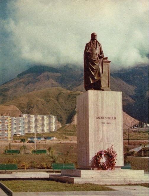 Plaza Andres Bello 1956