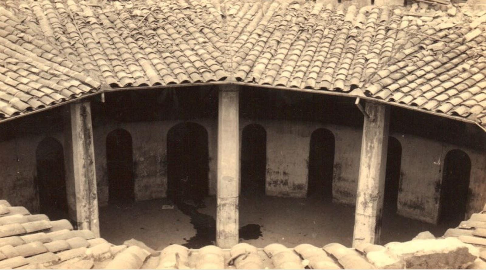 patio central de carcel la rotunda