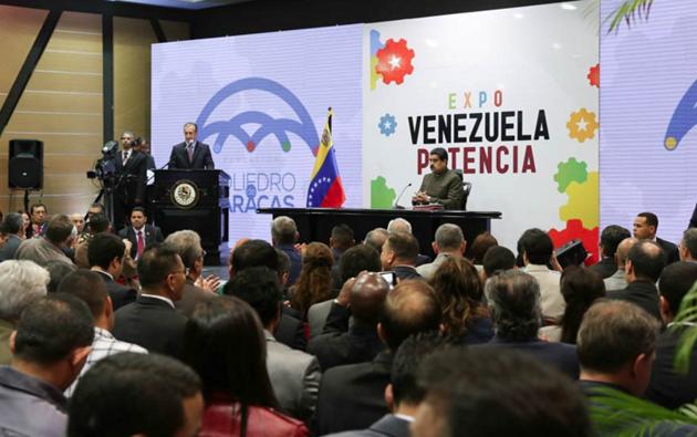 maduro inaugura expo venezuela potencia
