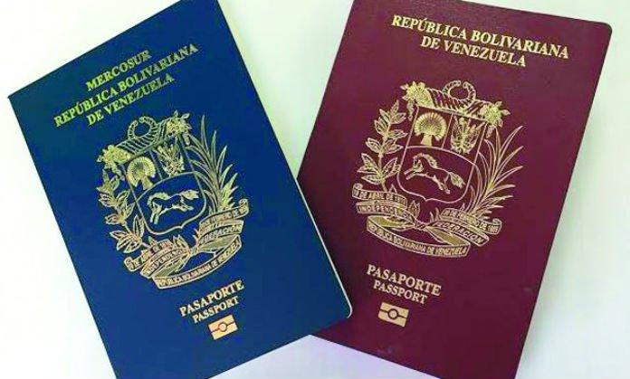 trámite del pasaporte