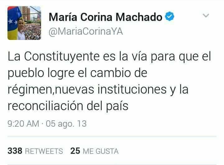 Maria Corina M