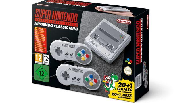 Super Nintendo Classic Mini incluye